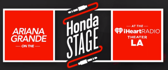 Ariana Grande on Honda Stage